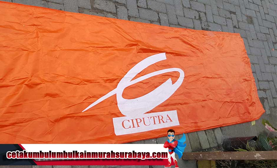 Cetak Bendera Citraland